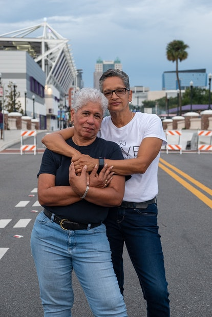 "Nancy and Myrna from Jamal Jordan's book, ""Queer Love in Color."""