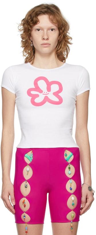 White Logo Baby T-Shirt