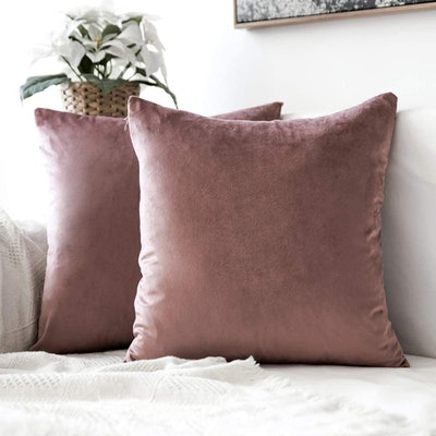 MIULEE Throw Pillow Covers (2-Pack)