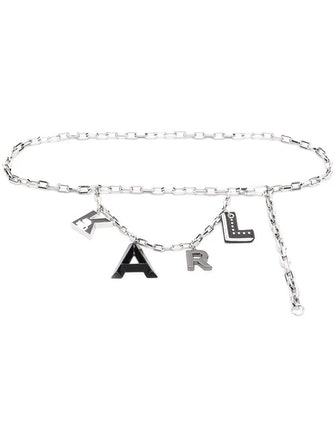 Karl Letters Chain Belt