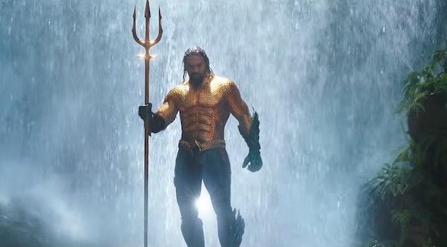 'Aquaman' stars Jason Mamoa and Amber Heard.