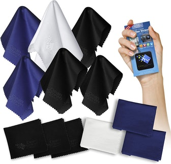 Clean Screen Wizard Microfiber Cleaning Cloths