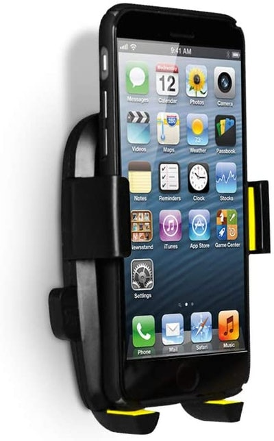 PJYU Wall-Mounted Cell Phone Holder
