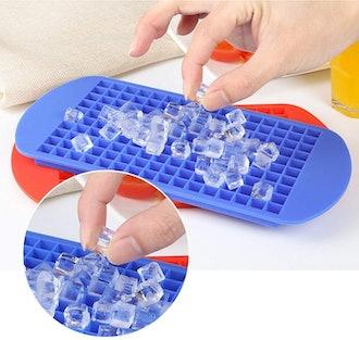 CrazyOwl Mini Ice Cube Molds (2-Pack)