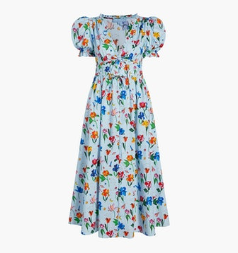 The Sabrina Dress in Space Floral