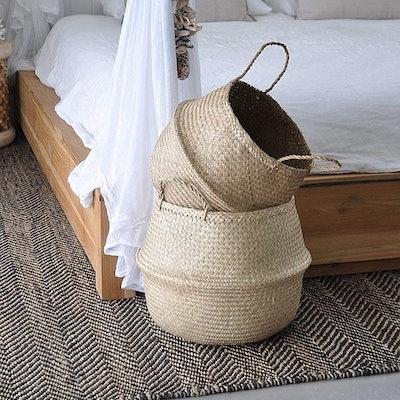 Natural Craft Large Basket