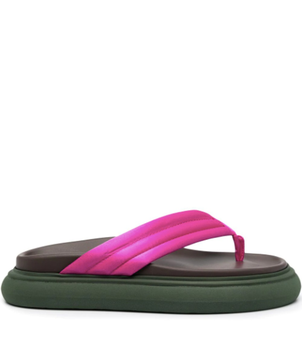 thong strap platform sandals