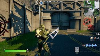 fortnite graffiti location 3 gameplay
