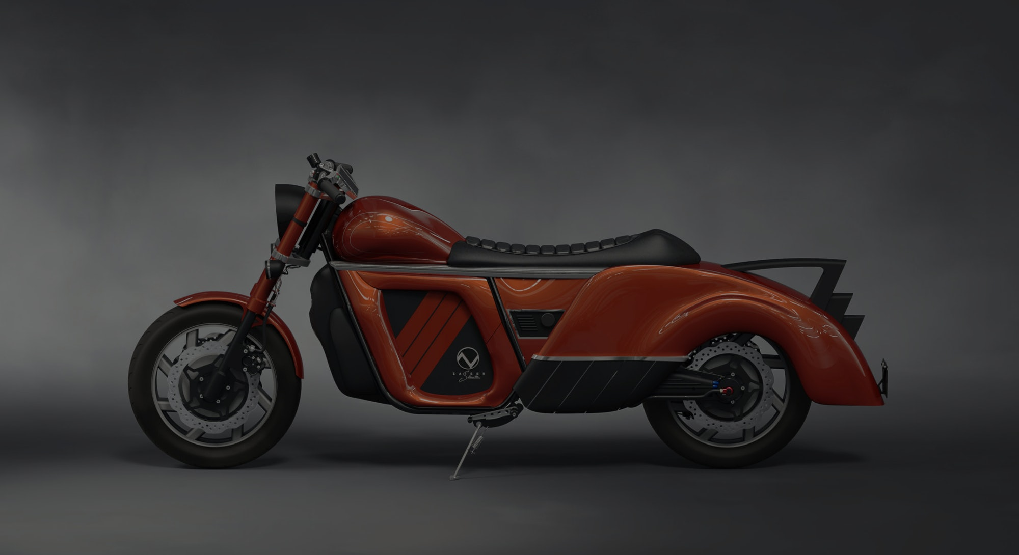 A company called Zaiser Motors have unveiled an electric motorcycle with a promise range of 300 mile...