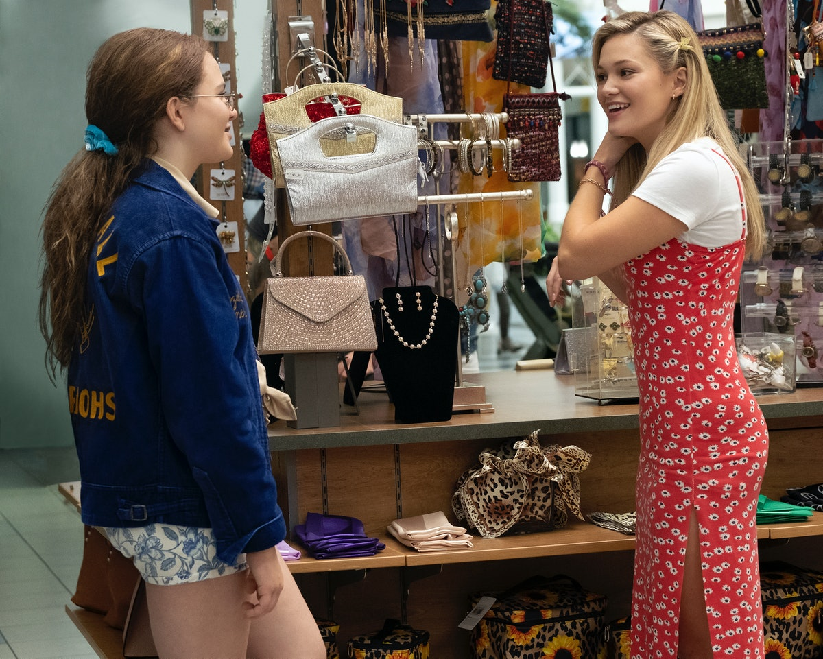 Chiara Aurelia as Jeanette and Olivia Holt as Kate in Freeform's 'Cruel Summer' also on Hulu