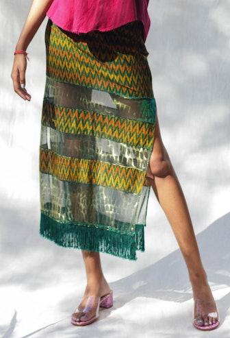 Mixed Media Skirt