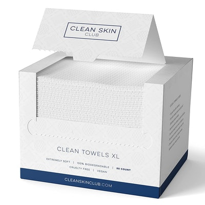 Clean Skin Club XL Biodegradable Face Towel (50-Count)