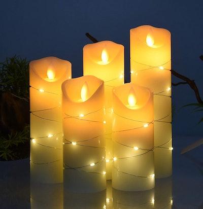 danip LED Flameless Candle