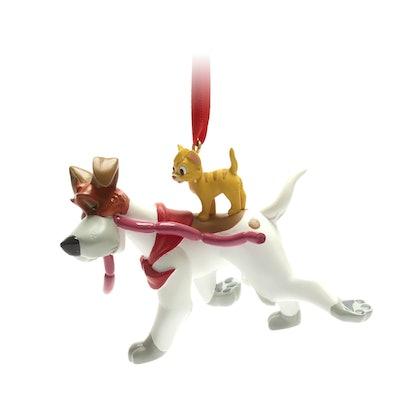 Oliver and Dodger Hanging Ornament