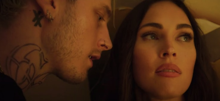 Megan Fox and Machine Gun Kelly in the 'Midnight In The Switchgrass' trailer.