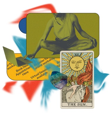 Practitioners agree: Energy healing, card reading, and hypnotherapy can work through a screen.