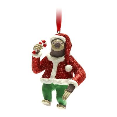 Flash Slothmore Festive Hanging Ornament