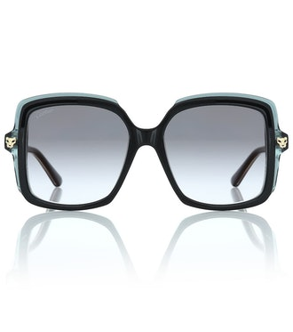 Panthère de Cartier Oversized Sunglasses
