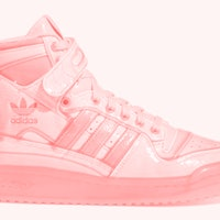 Jeremy Scott turns the jelly sandal into an eye-popping Adidas sneaker