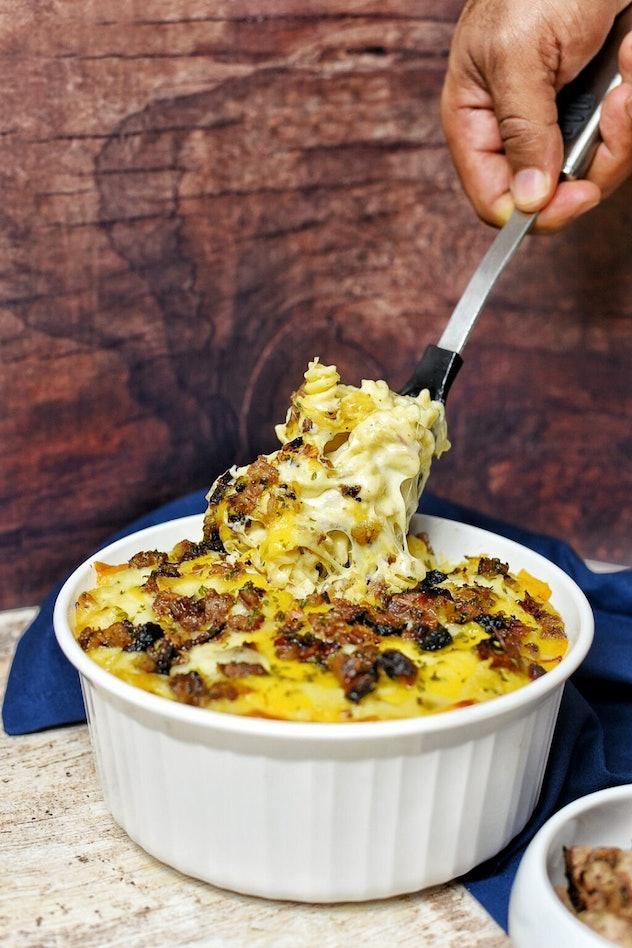 brisket mac & cheese