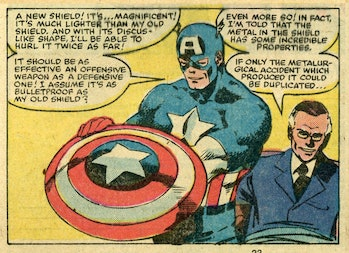 FDR and Steve Rogers.