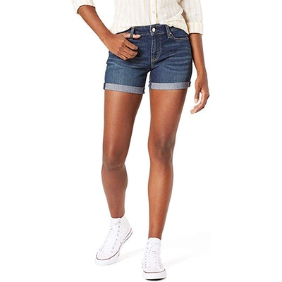 Signature By Levi Strauss & Co. Gold Label Mid-Rise Shorts