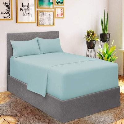 Mellanni Bed Sheet Set (3-Piece)