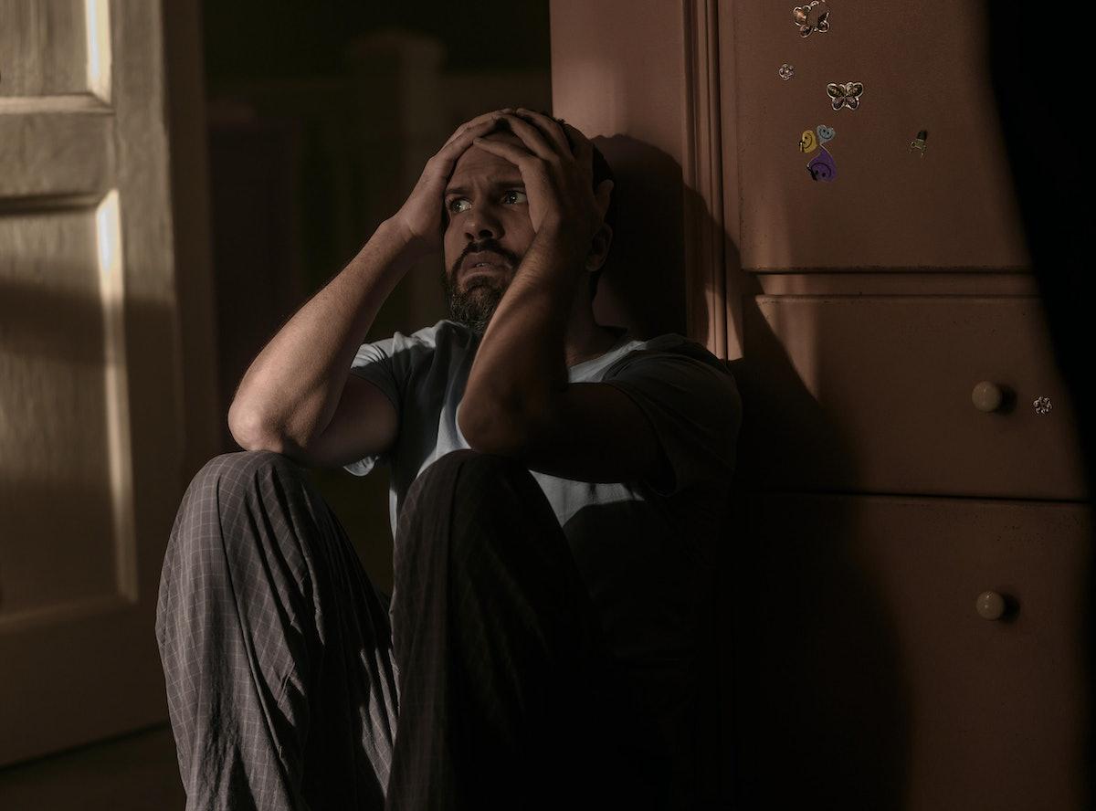 O. T. Fagbenle as Luke Bankole as June leaves him at the end of The Handmaid's Tale Season 4