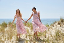 Models wearing Hill House Home Nap Dresses.