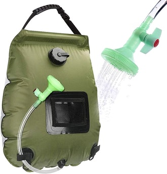 Beaucares Camping Shower Backpack