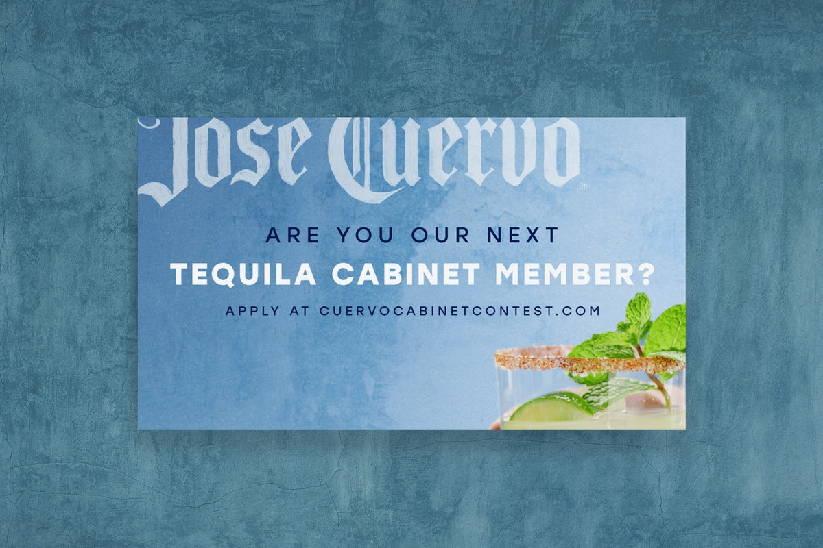 Here's how to apply for Jose Cuervo's Tequila Cabinet for a chance to win a paid trip to Mexico.