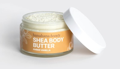 Amber Vanilla Shea Body Butter