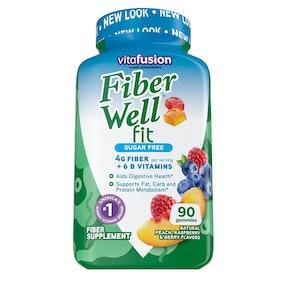 Vitafusion Fiber Well Fit Gummies Supplement (90 Count)