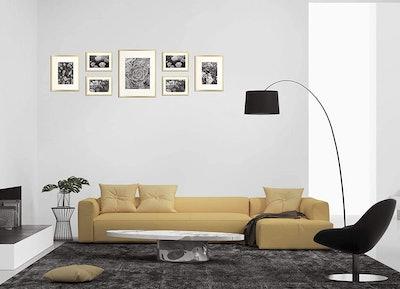 Golden State Art Aluminum Photo Frames (7-Piece)