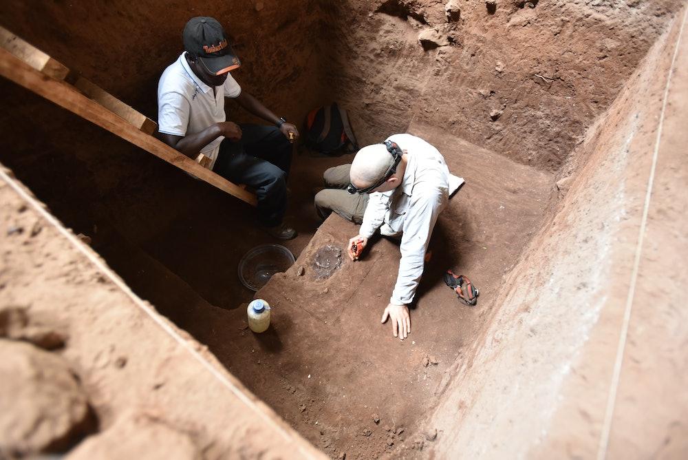 Panga Ya Saidi excavation site