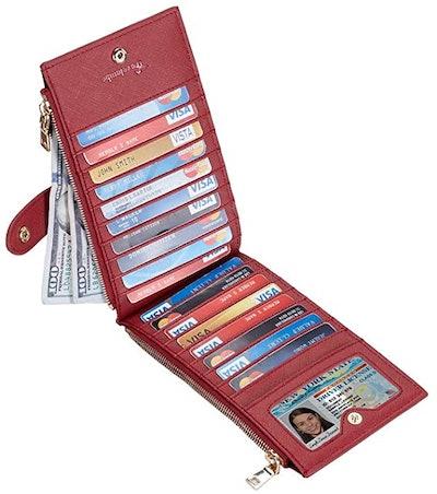 Travelambo RFID Blocking Bifold Multi Card Wallet