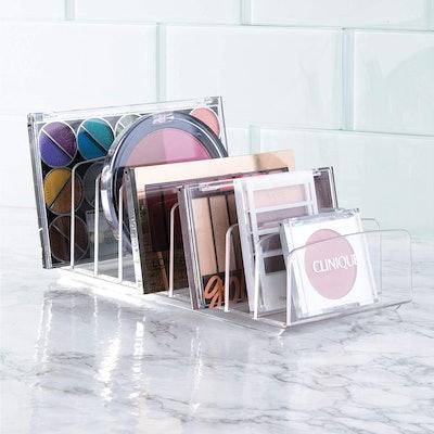iDesign Divided Makeup Palette Organizer