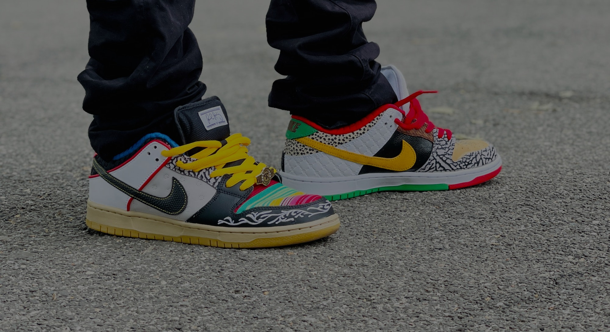 Nike What The Paul SB Dunk What The P-Rod on feet review. Shoes. Fashion. Streetwear. Clothing. Style.