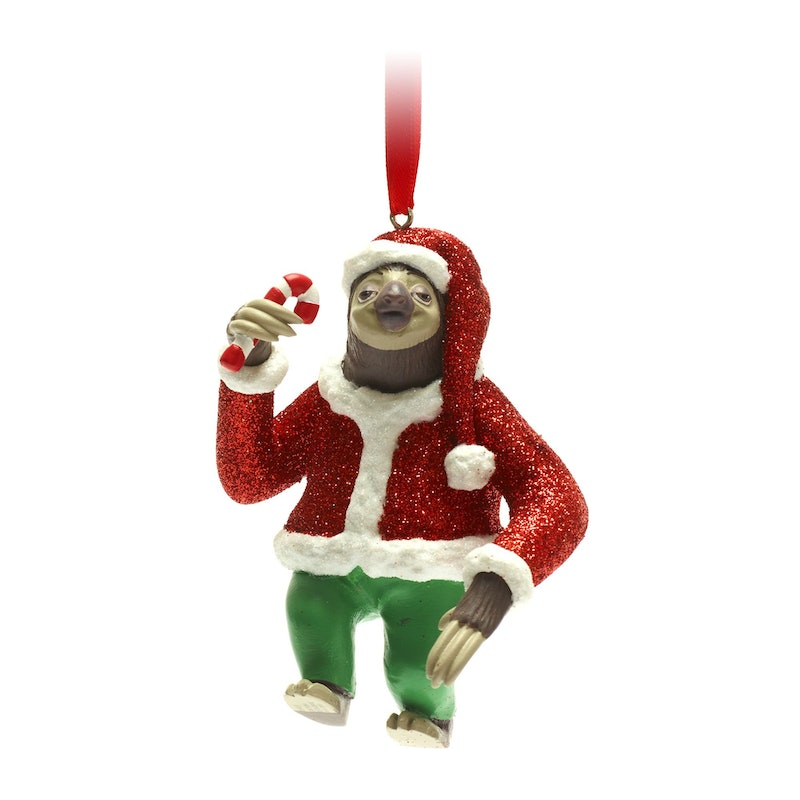 Disney's Christmas 2021 decorations include this Flash Slothmore Claus ornament, inspired by 'Zootroplis'