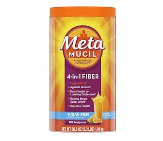 Metamucil Psyllium Husk Powder Fiber Supplement