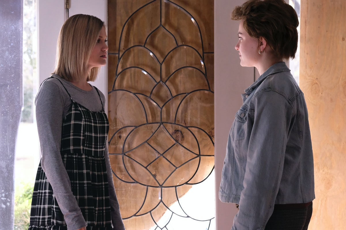 Olivia Holt as Kate and Chiara Aurelia as Jeanette in Freeform's 'Cruel Summer' also on Hulu