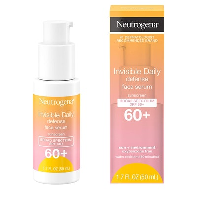 Neutrogena Invisible Daily Defense Face Serum With Broad Spectrum SPF 60+