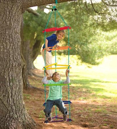 Rainbow Triangle Rope-Climbing Ladder