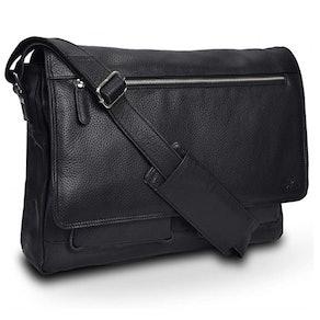 LEVOGUE Leather Messenger Bag