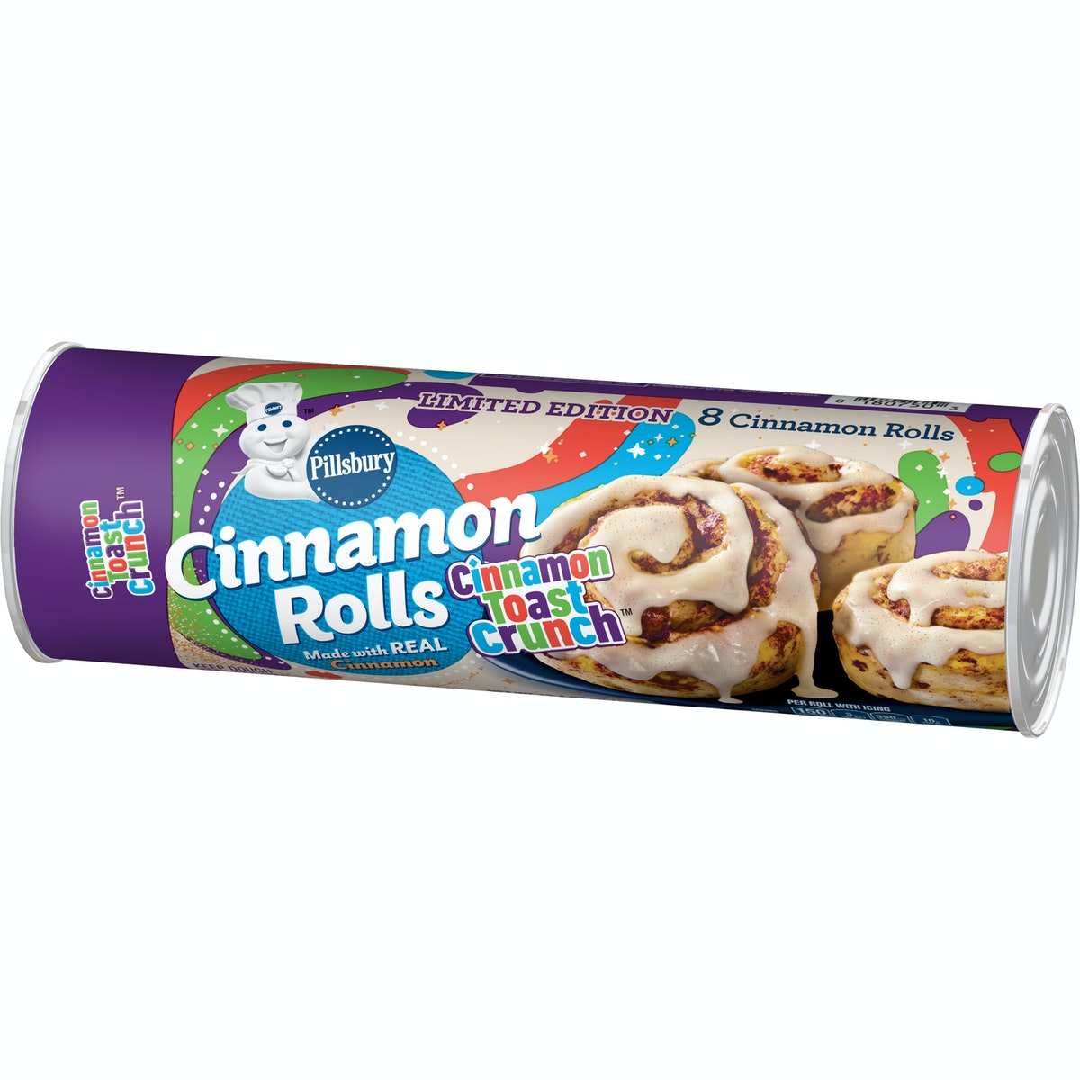 Where to buy Pillsbury's Cinnamon Toast Crunch Cookie Dough and Cinnamon Rolls for a cereal-inspired...