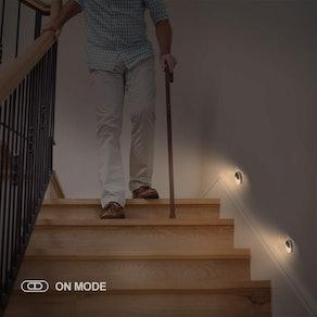 AUVON Plug-in LED Motion Sensor Night Light (4-Pack)