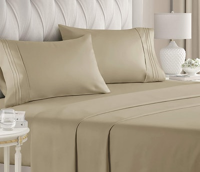 Hotel Luxury Bed Sheets (4 Piece Set)