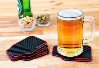 Triple Gifffted Silicone Drink Coasters (Set of 4)