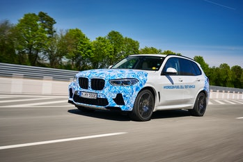 The BMW i Hydrogen NEXT fuel cell vehicle