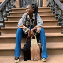Petit Kouraj designer Nasrin Jean-Baptiste opens up about drawing inspiration from Haiti and supporting Black-owned businesses on Juneteenth and beyond.